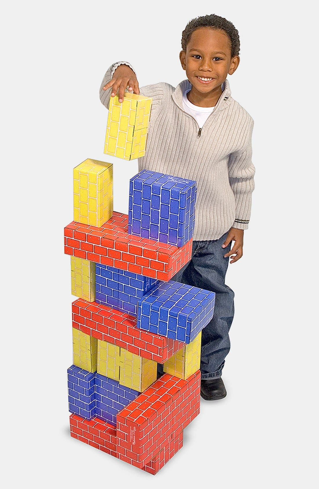Alternate Image 2  - Melissa & Doug Cardboard Blocks (Online Only)