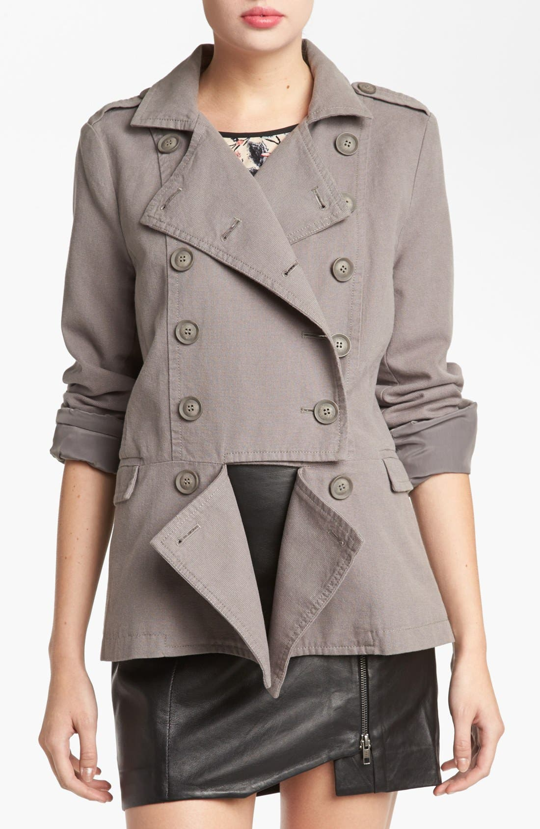 Alternate Image 1 Selected - Leith Cutaway Officer Coat
