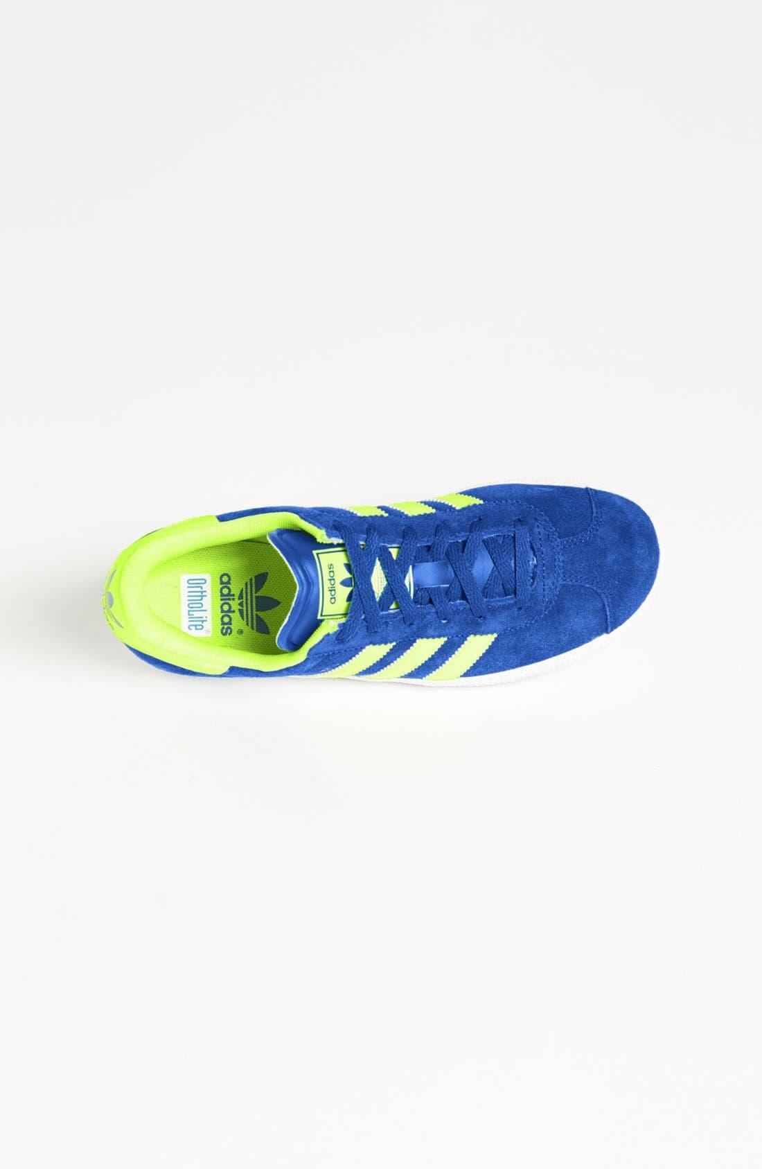 Alternate Image 3  - adidas 'Gazelle' Sneaker (Big Kid)