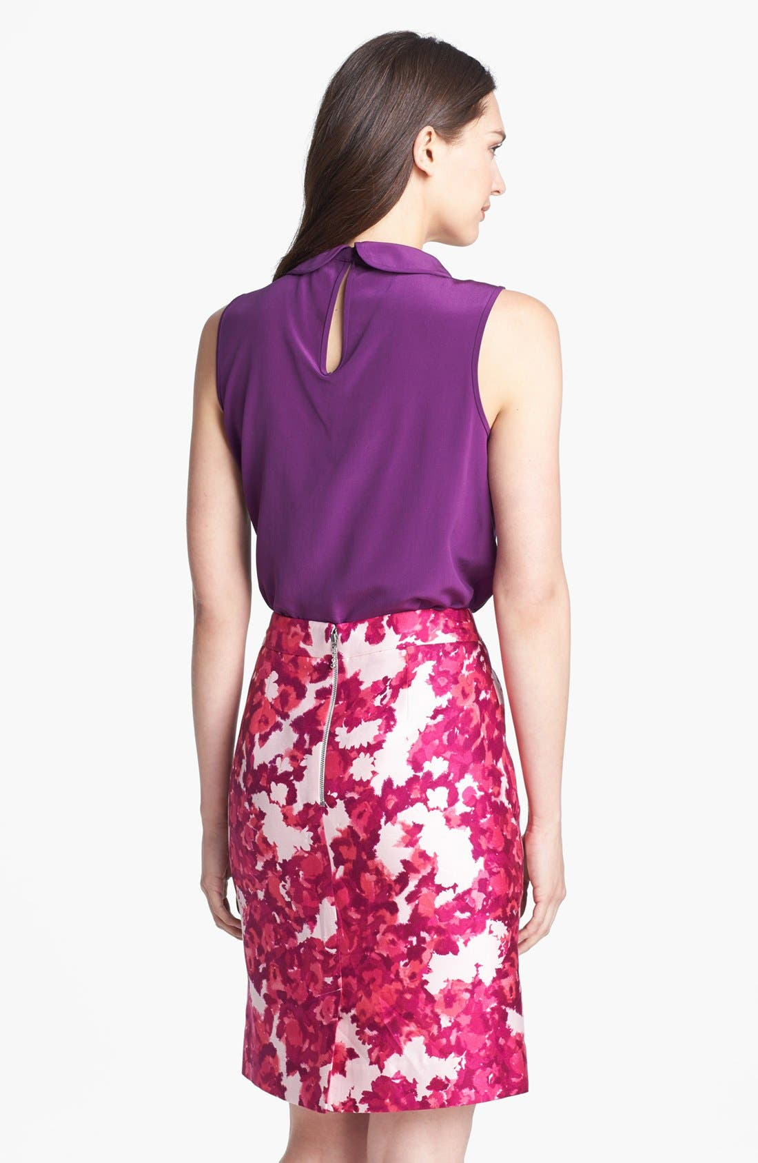 Alternate Image 2  - kate spade new york 'rosalind' silk top