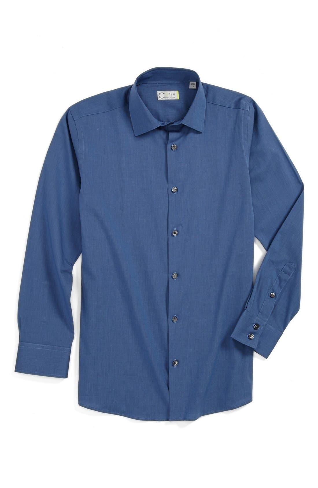 Alternate Image 1 Selected - C2 by Calibrate 'Carter' Dress Shirt (Big Boys)