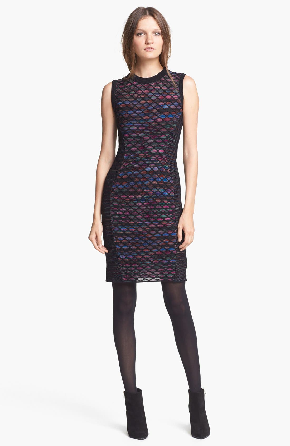 Main Image - M Missoni Diamond Knit Shift Dress