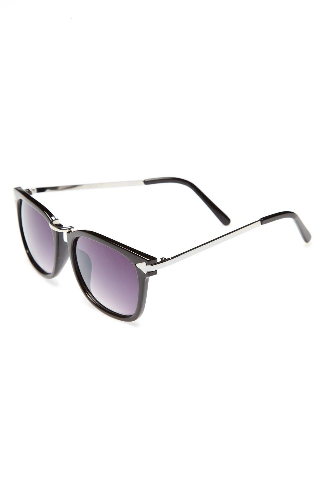 Main Image - BP. Metal Bridge Sunglasses (Juniors)