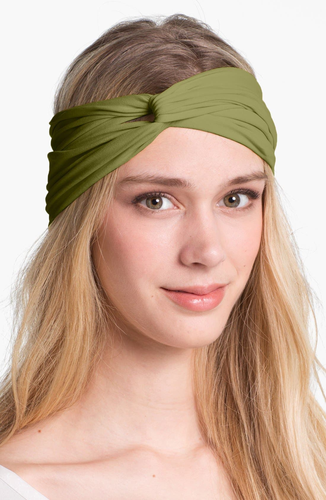 Alternate Image 1 Selected - L. Erickson Interlock Turban Headband