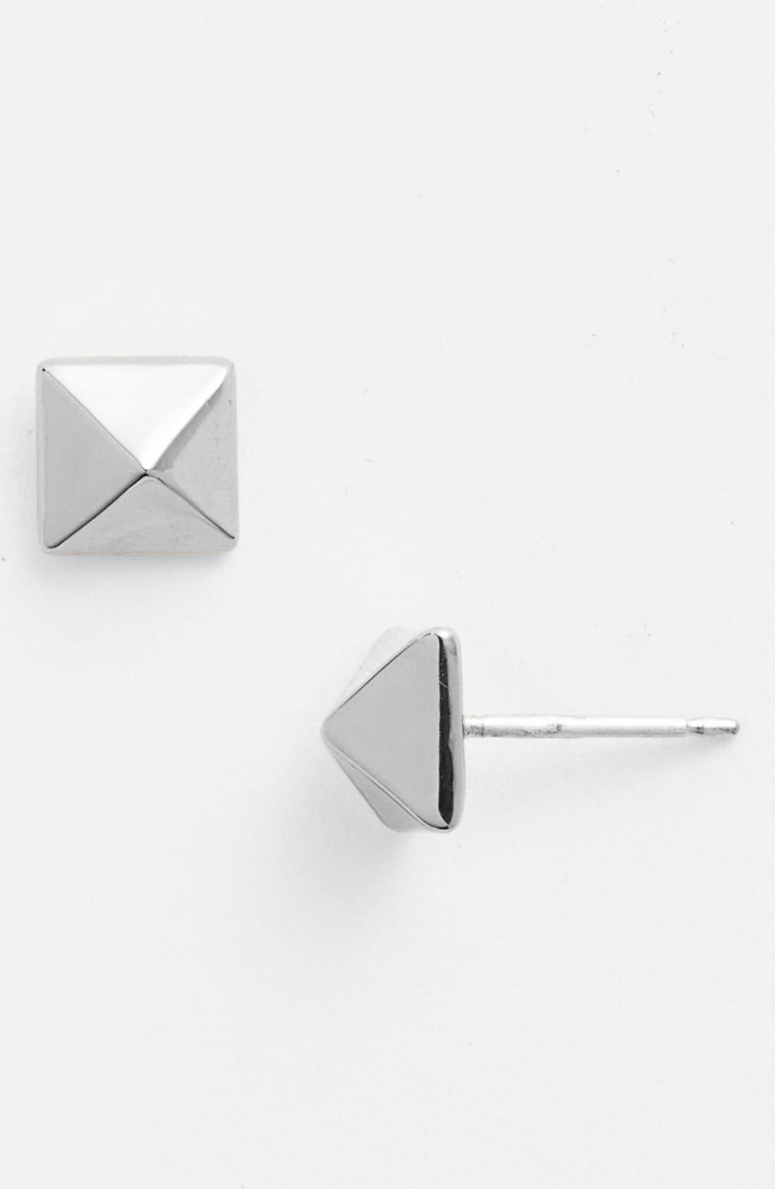 Alternate Image 1 Selected - kate spade new york 'locked in' mini stud earrings