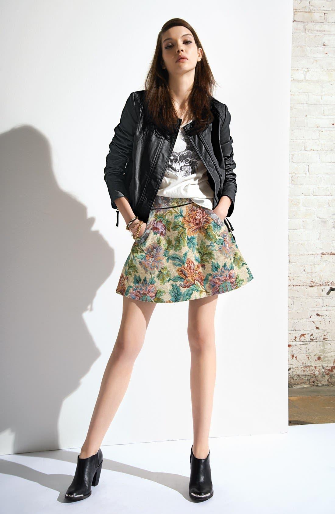 Main Image - Free People Jacket, Tee & Skirt