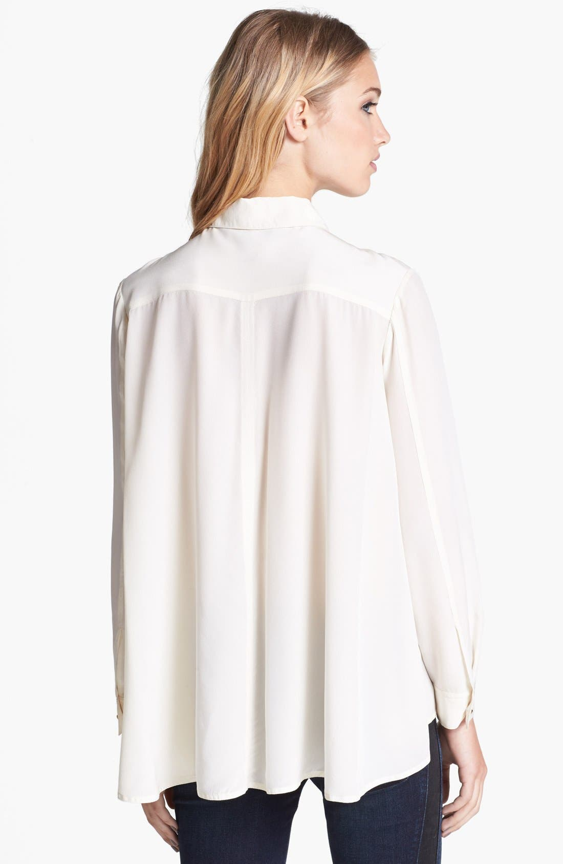 Alternate Image 2  - MARC BY MARC JACOBS 'Alex' Silk Top