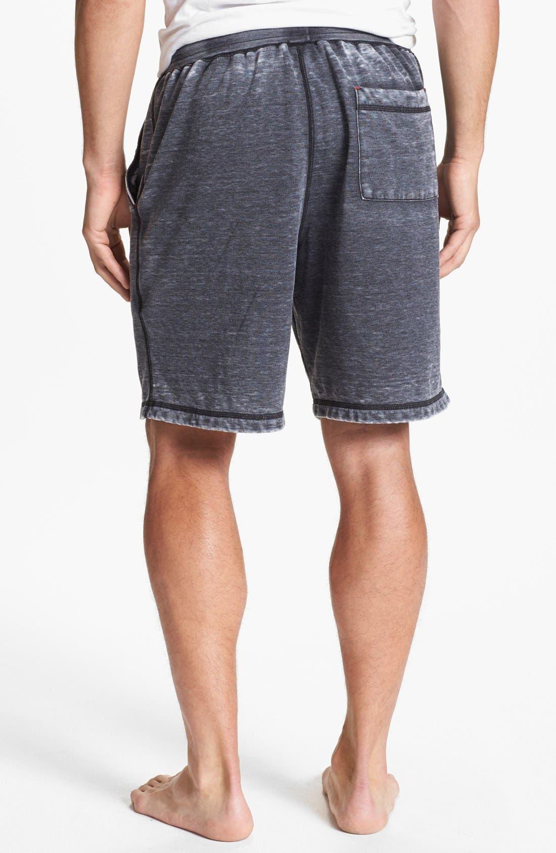 Alternate Image 2  - Daniel Buchler Washed Cotton Blend Shorts