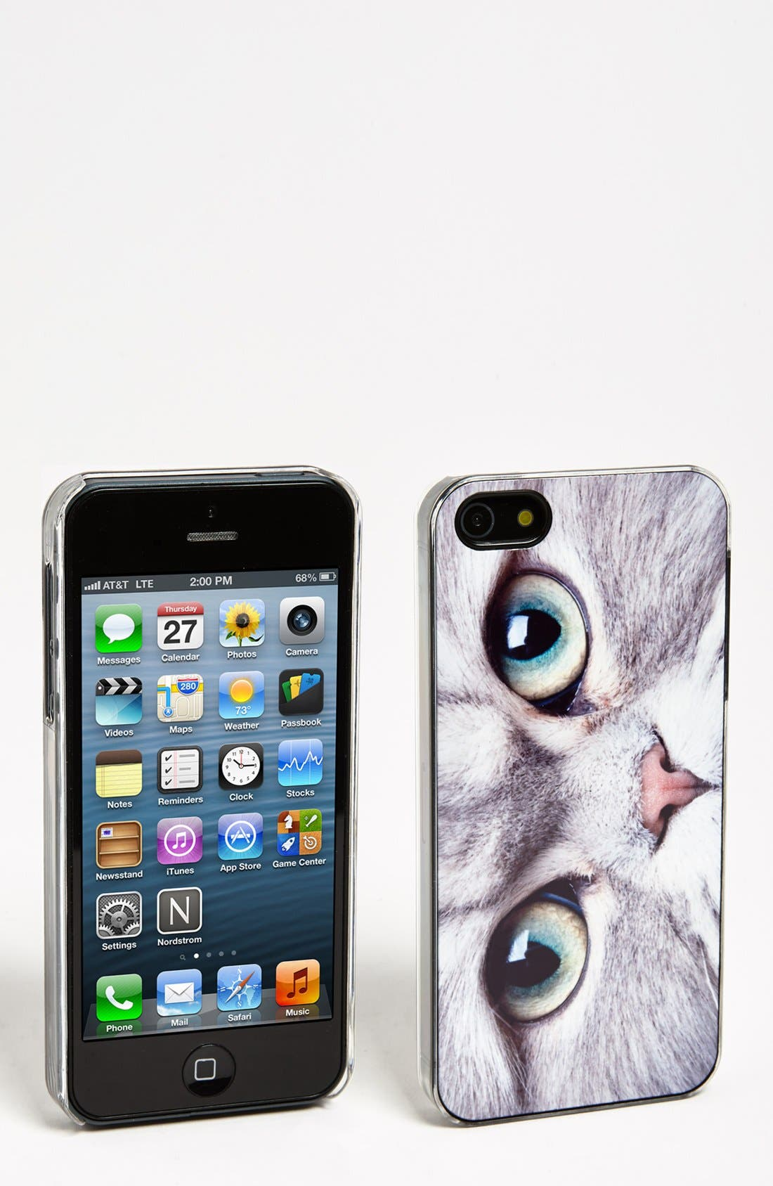 Alternate Image 1 Selected - ZERO GRAVITY 'Meow' iPhone 5 Case