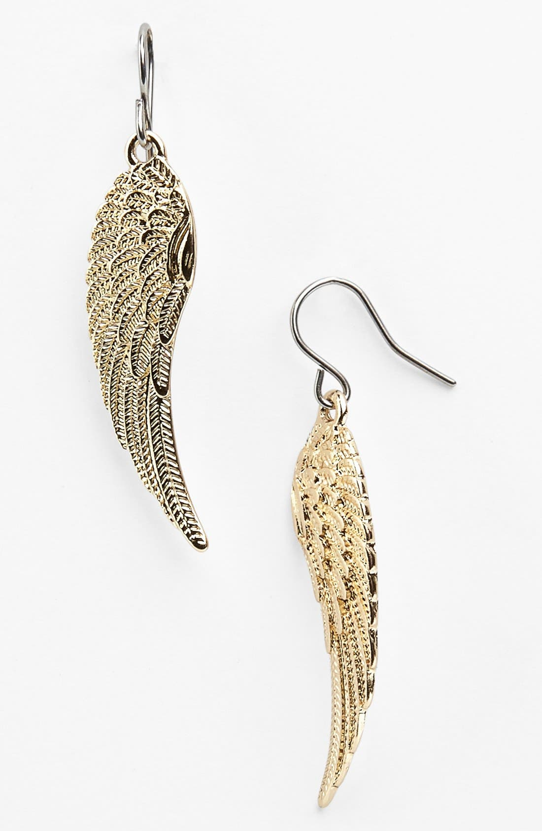 Main Image - Metal Haven by KENDALL + KYLIE 'Wing' Earrings (Juniors) (Nordstrom Exclusive)