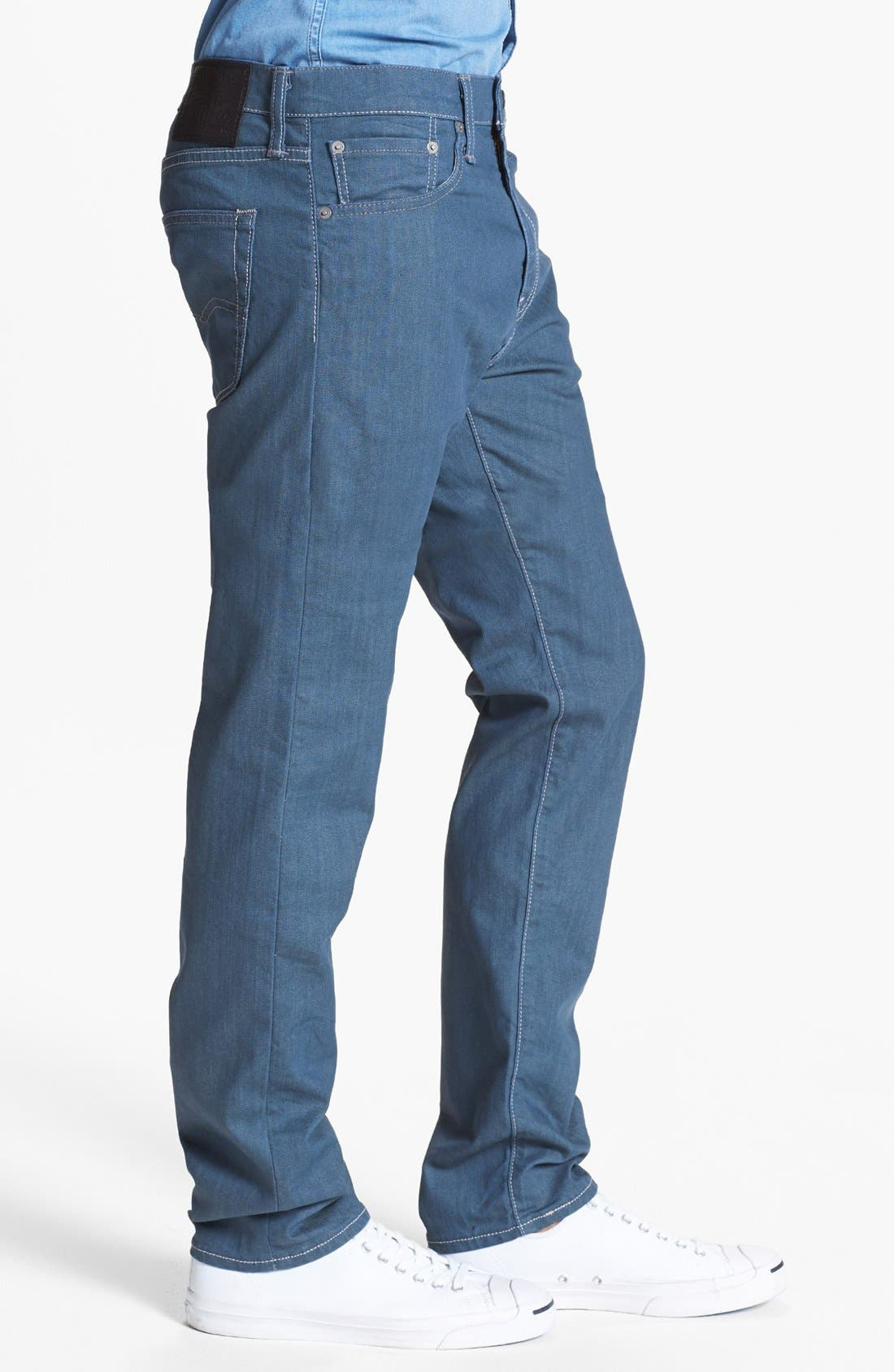 Alternate Image 3  - Levi's® '508™' Skinny Fit Jeans (Nebula)