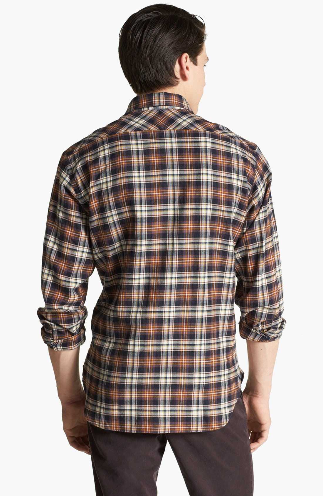 Alternate Image 2  - Billy Reid 'John T' Plaid Shirt