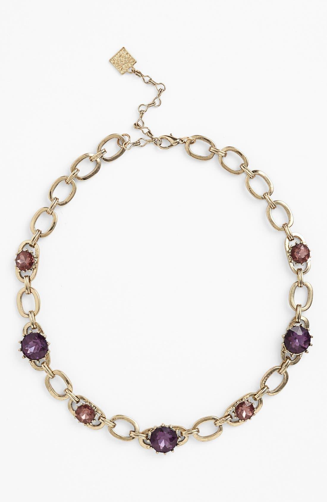 Alternate Image 2  - Anne Klein Link Collar Necklace