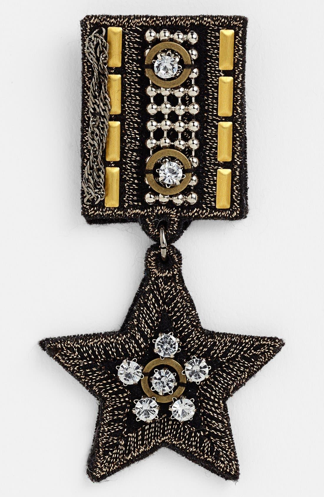 Alternate Image 1 Selected - Cara 'Military Star' Pin