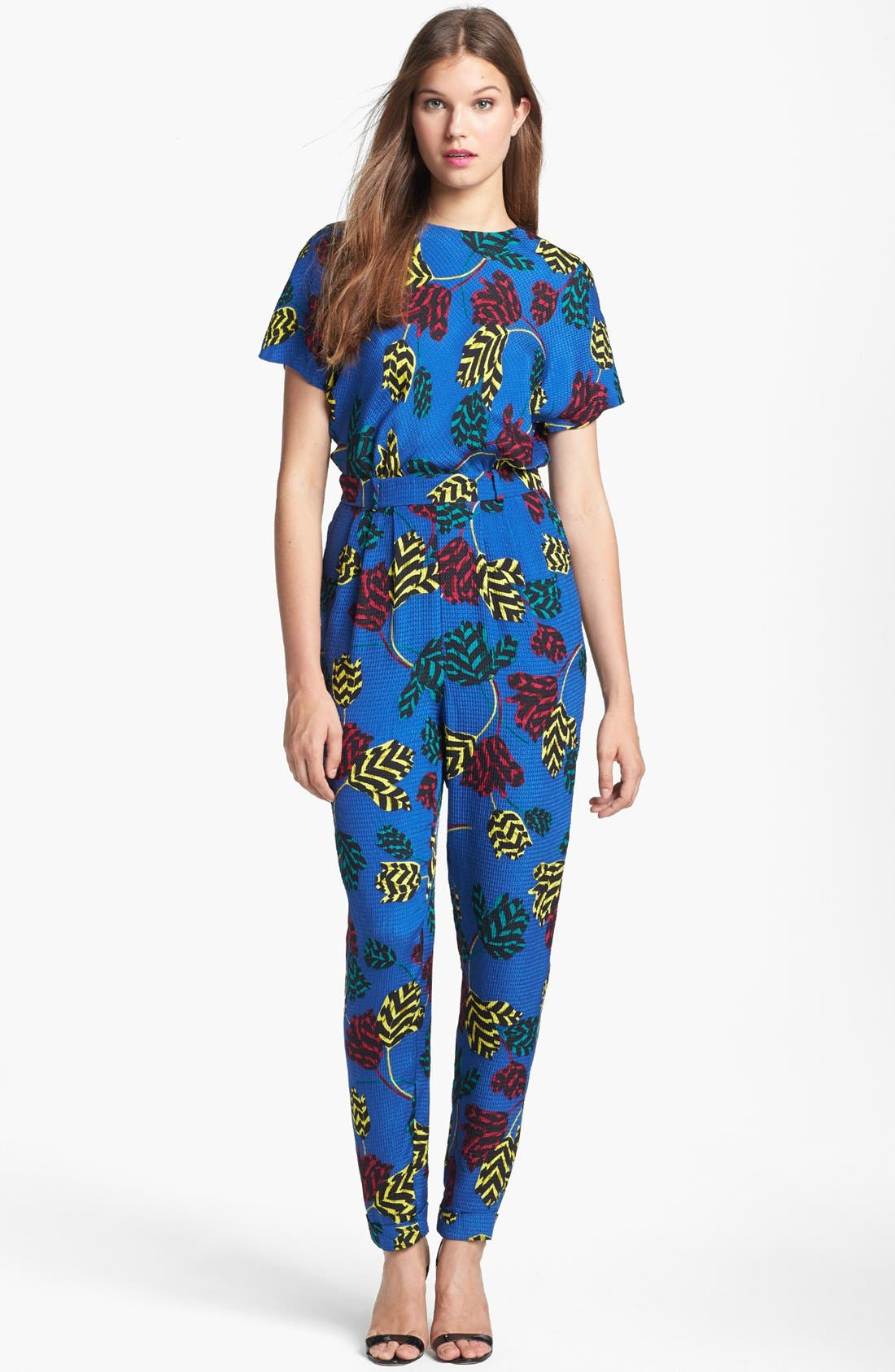 Alternate Image 1 Selected - MARC BY MARC JACOBS 'Mareika Tulip' Blouson Jumpsuit