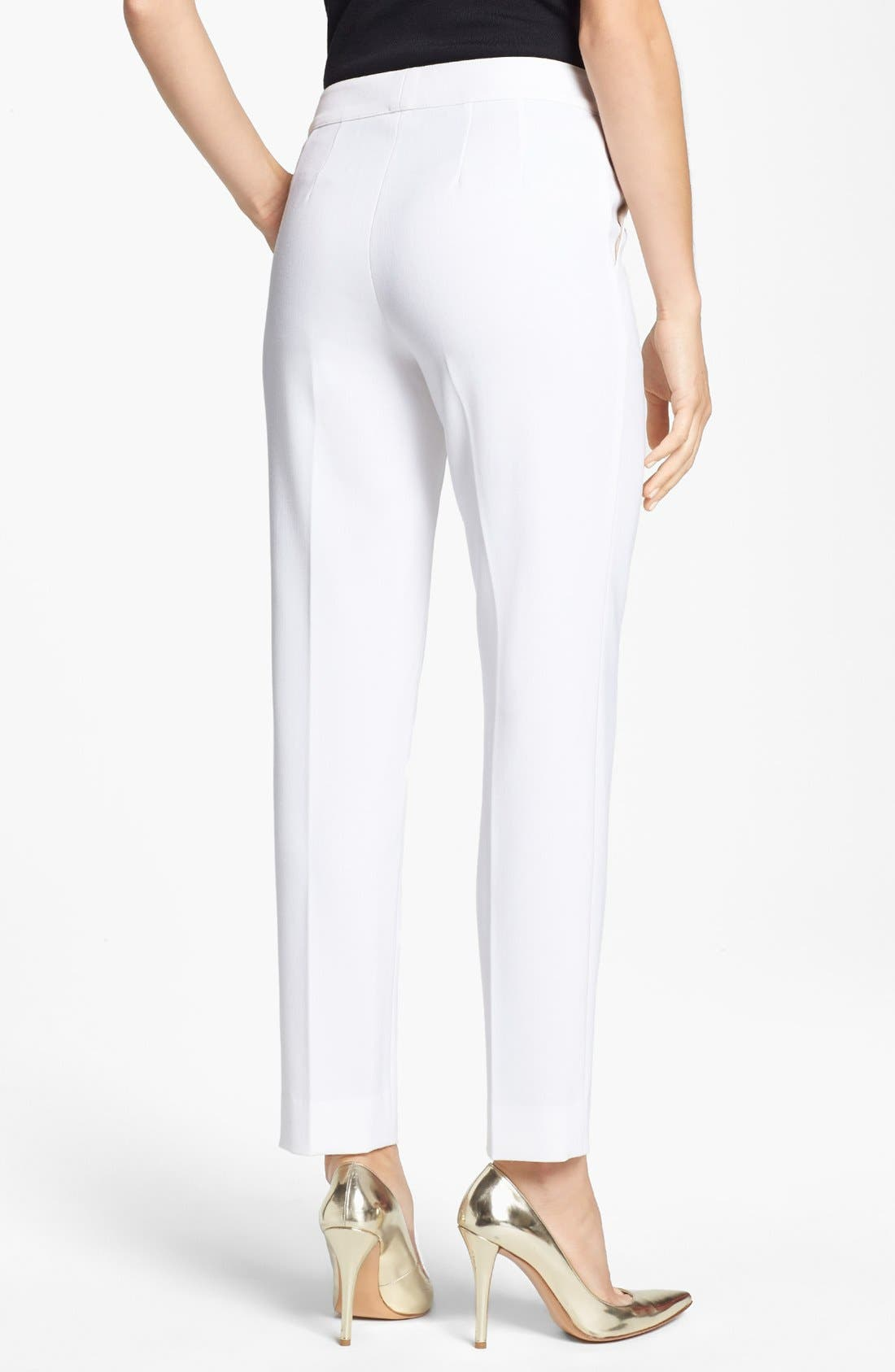 Alternate Image 2  - St. John Collection 'Emma' Straight Leg Pants