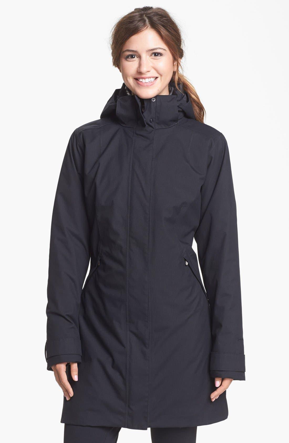 Main Image - Patagonia Parka, Zella Leggings & Halogen® Sweater