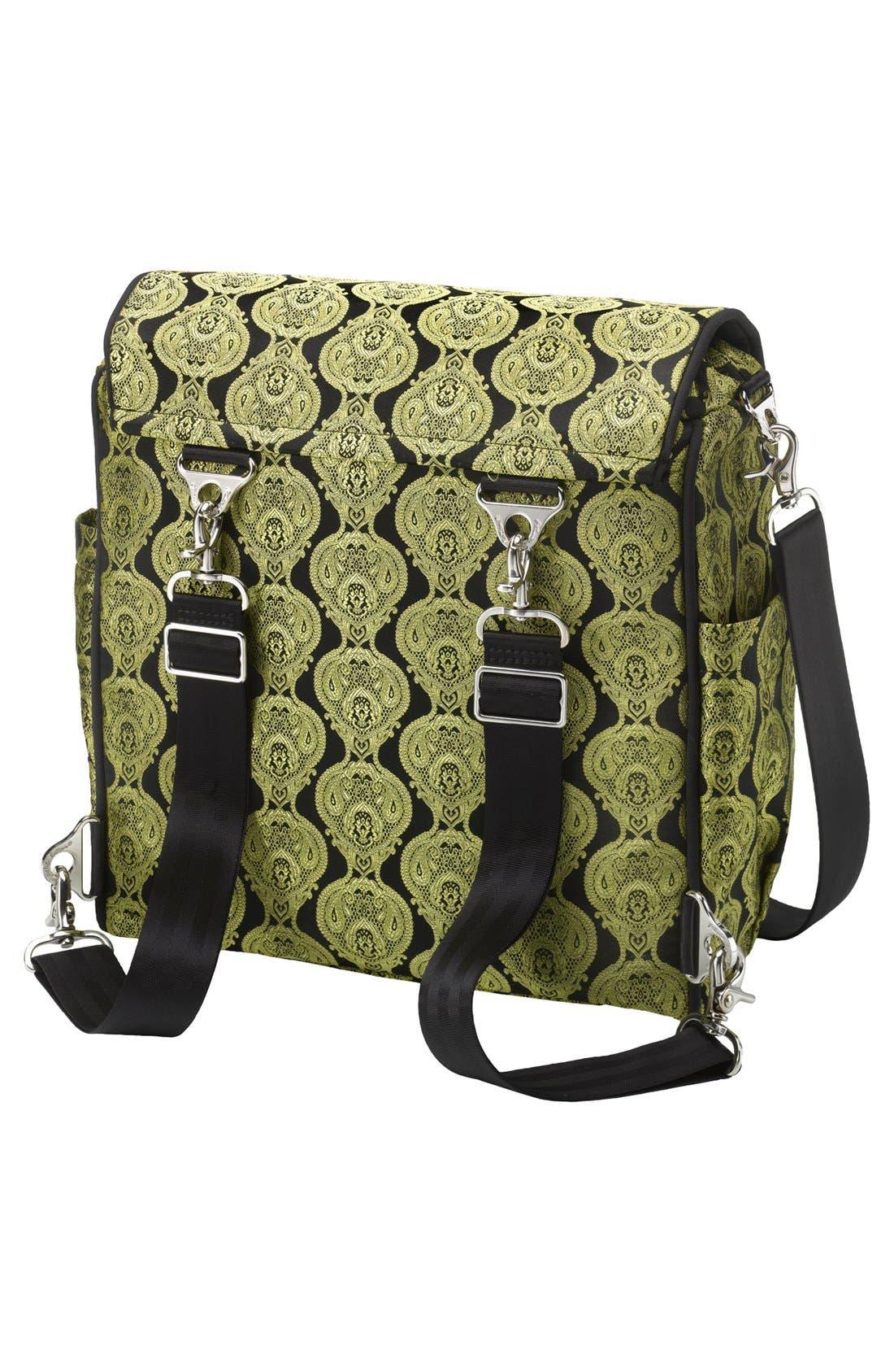 Alternate Image 4  - Petunia Pickle Bottom 'Boxy' Brocade Backpack Diaper Bag
