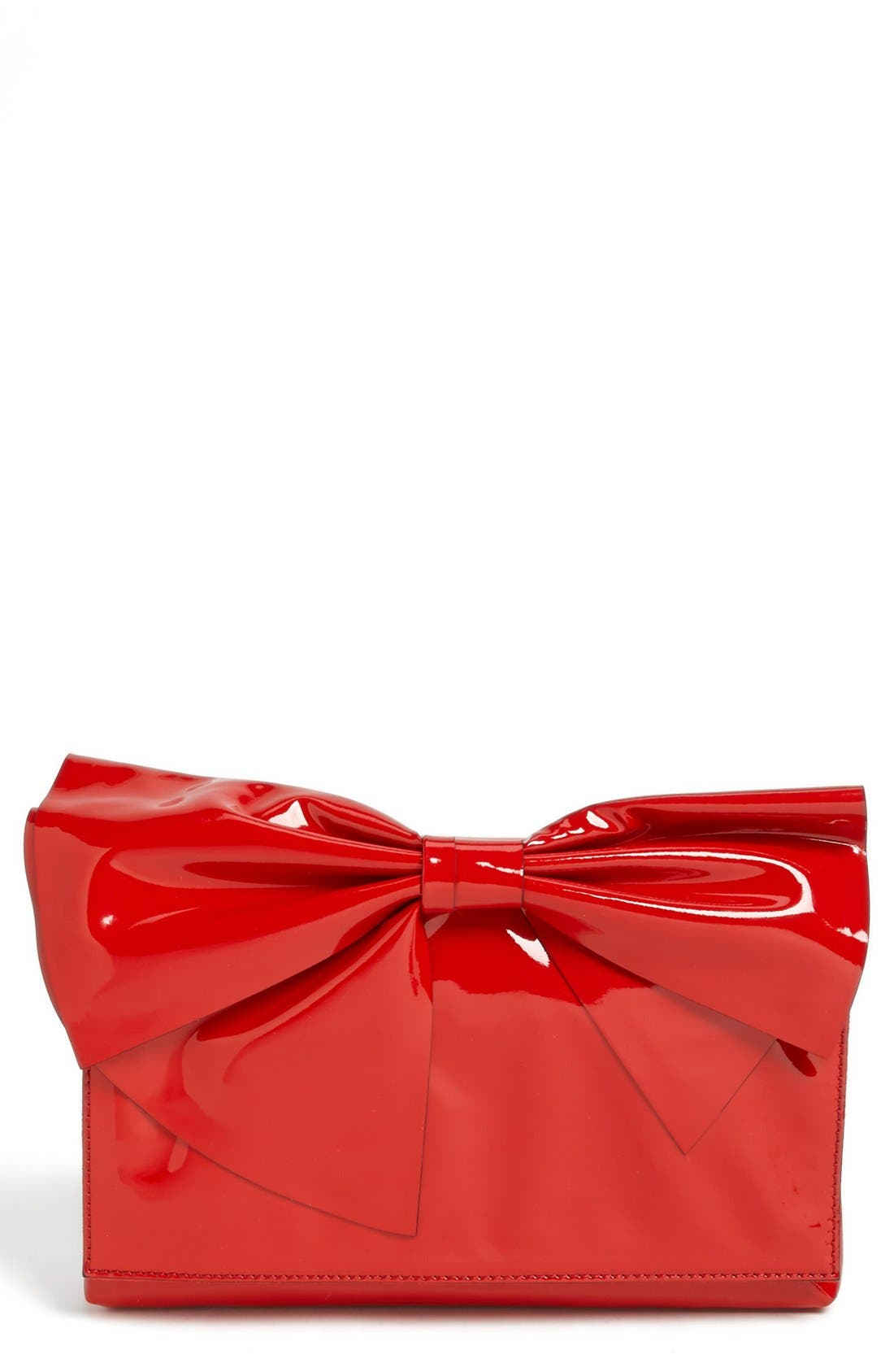 Alternate Image 1 Selected - Valentino 'Lacca Bow' Flap Clutch