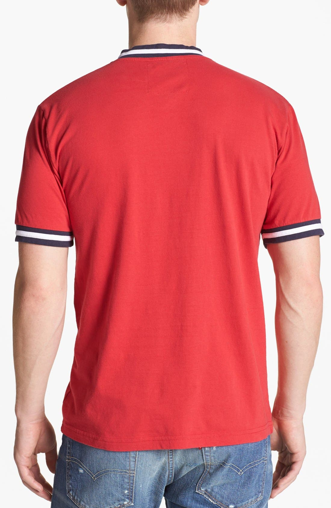 Alternate Image 2  - Wright & Ditson 'St. Louis Cardinals' V-Neck T-Shirt