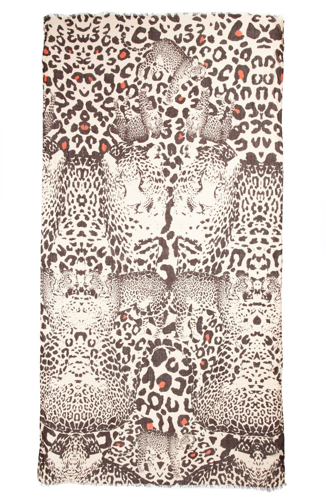 Alternate Image 2  - Lulla Collection by Bindya 'Dancing Leopard' Scarf