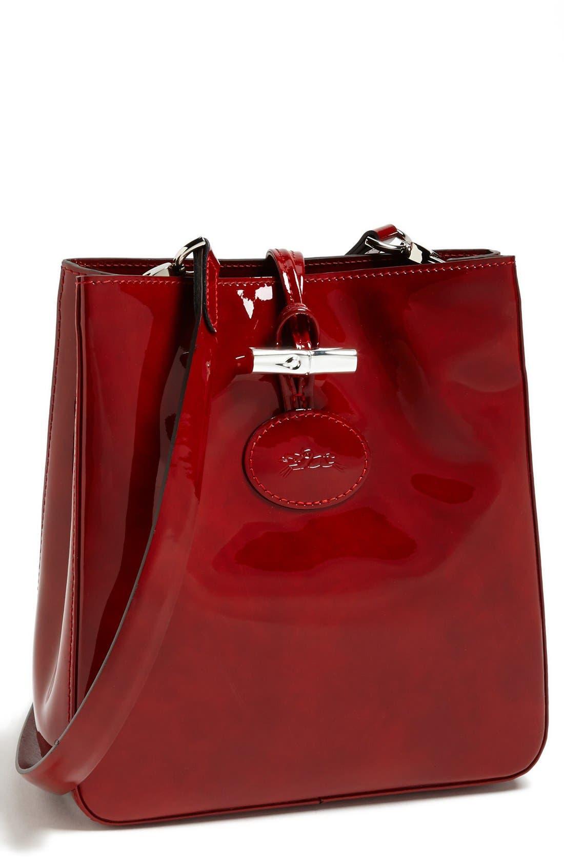 Main Image - Longchamp 'Roseau Box' Crossbody Bag