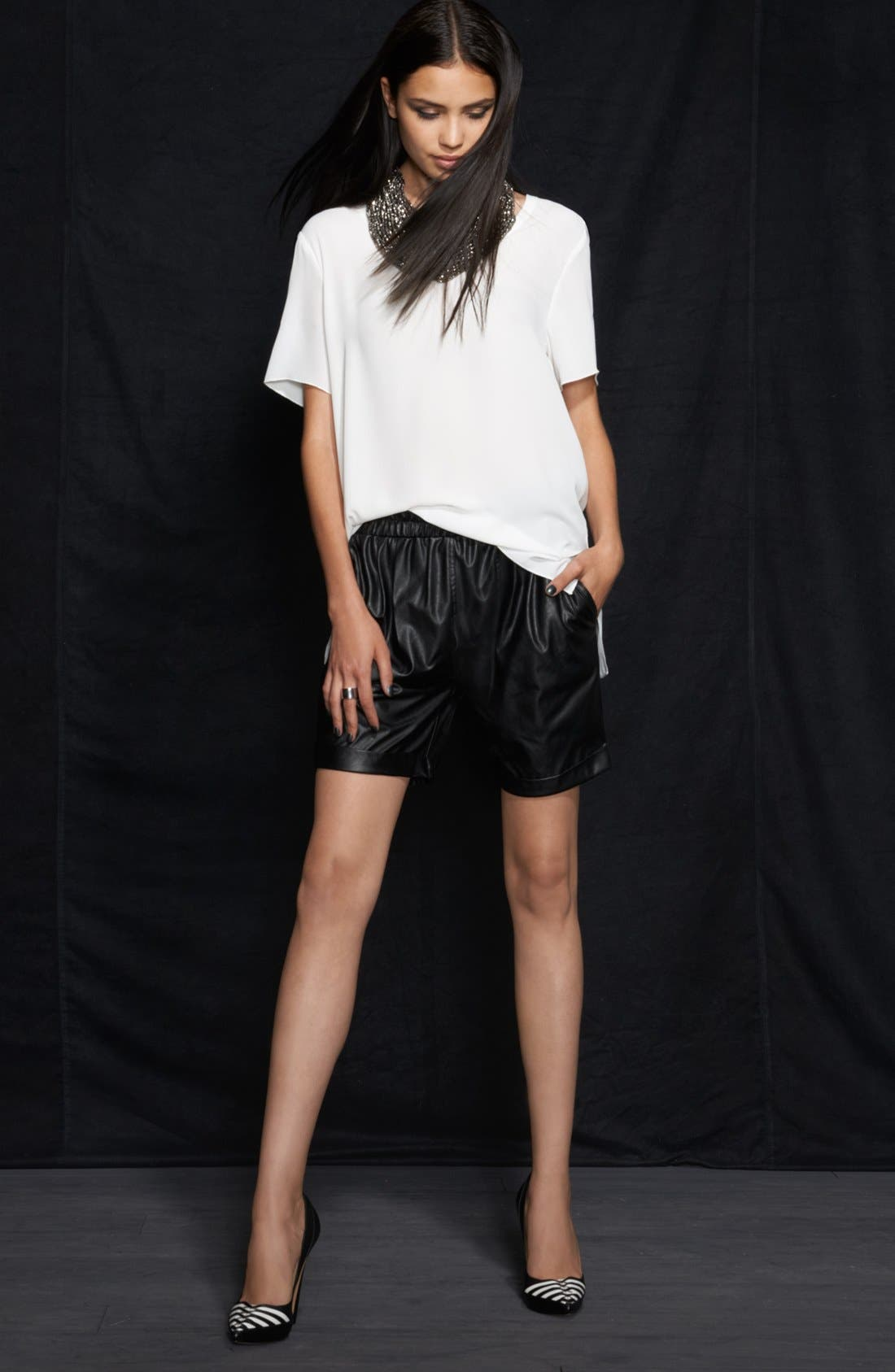 Alternate Image 1 Selected - Leith Tee & Rules of Etiquette Shorts