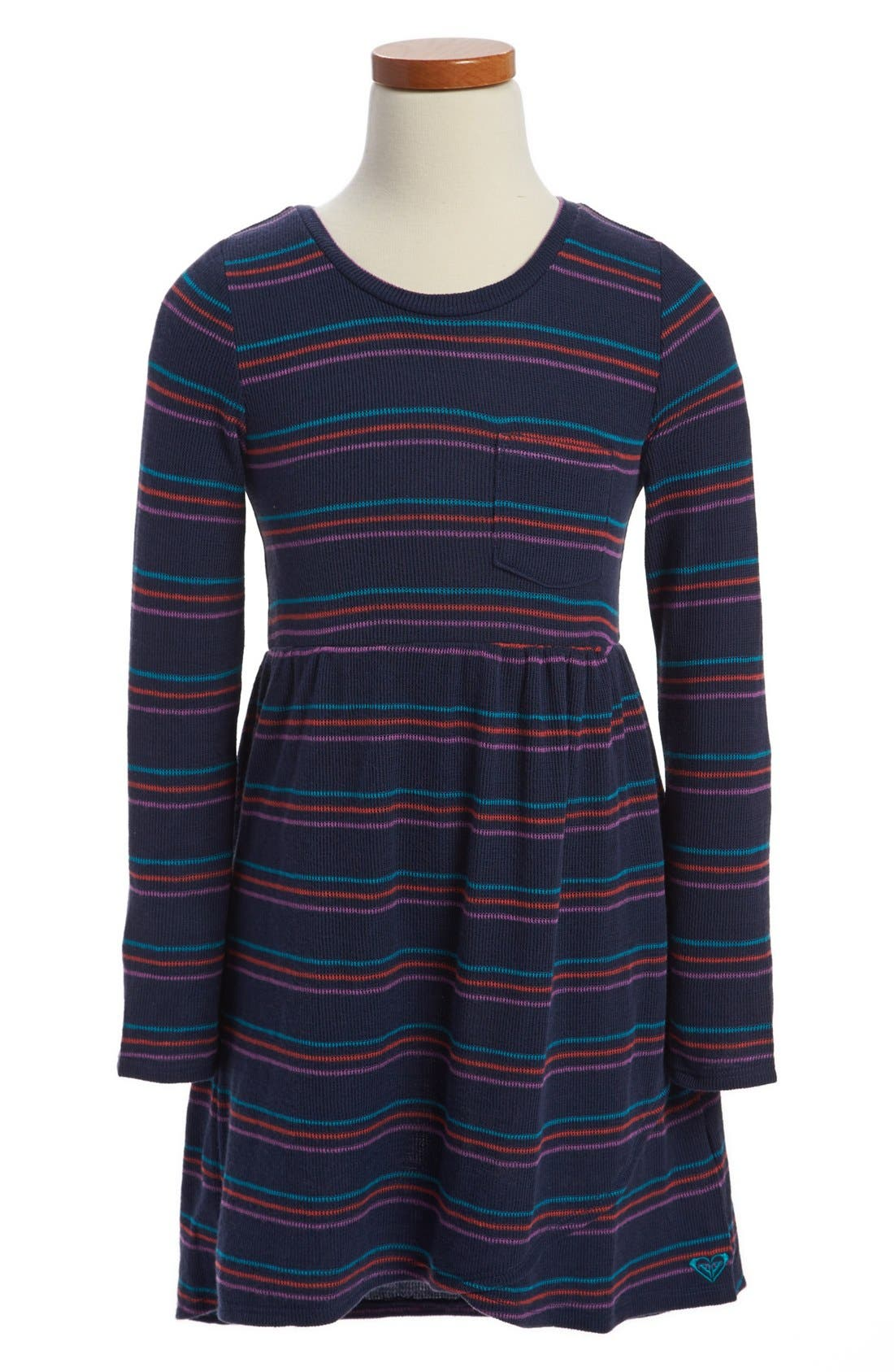 Alternate Image 1 Selected - Roxy 'Darling' Dress (Toddler Girls)