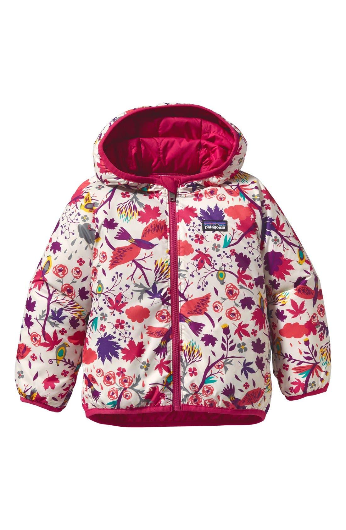 Main Image - Patagonia Reversible Hooded Jacket (Infant)