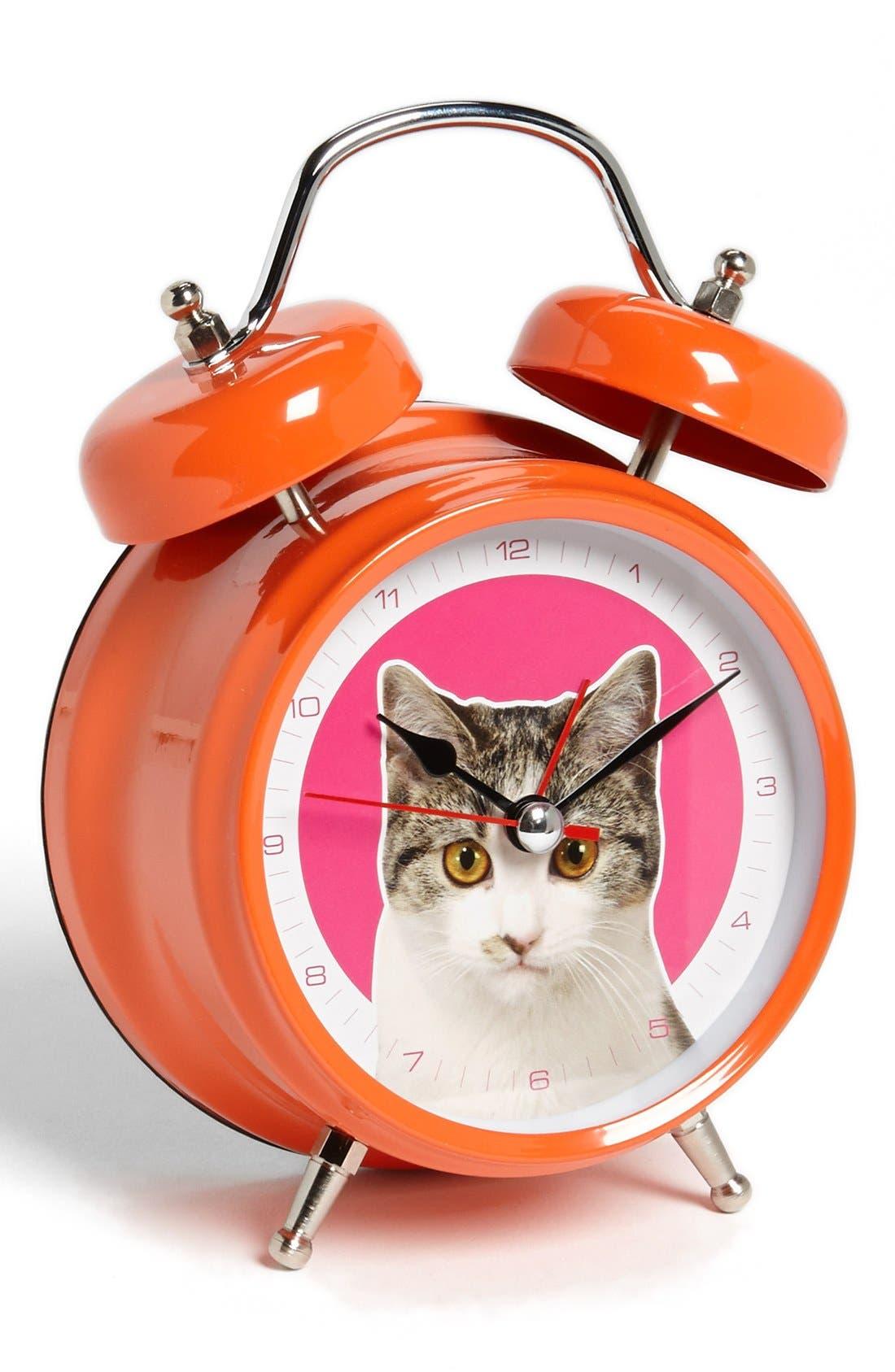 Alternate Image 1 Selected - Wanted Cat Alarm Clock (Girls)