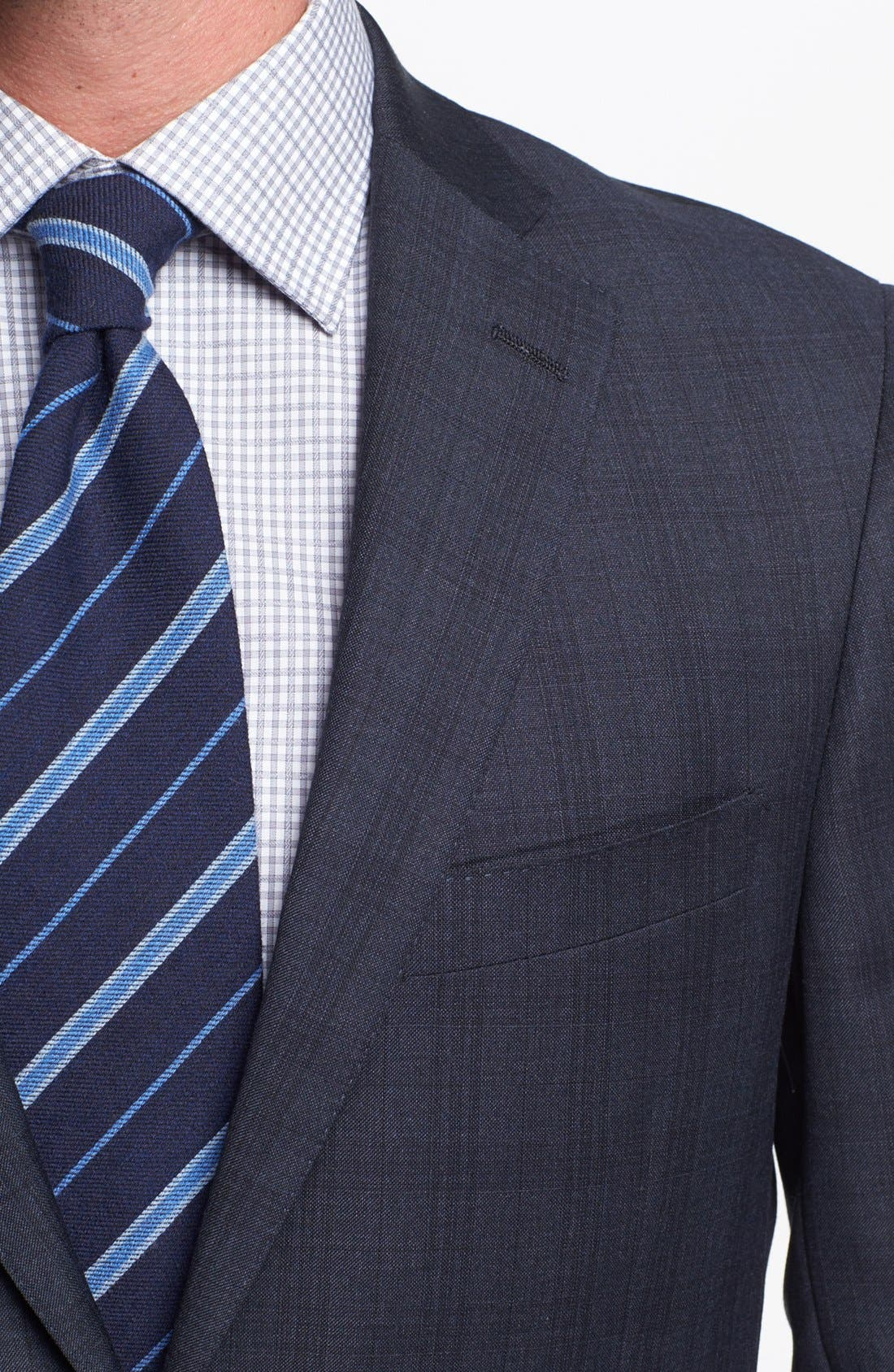 Alternate Image 2  - Hart Schaffner Marx Classic Fit Plaid Suit