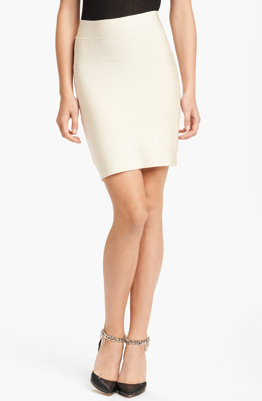 Alternate Image 1 Selected - Herve Leger Miniskirt