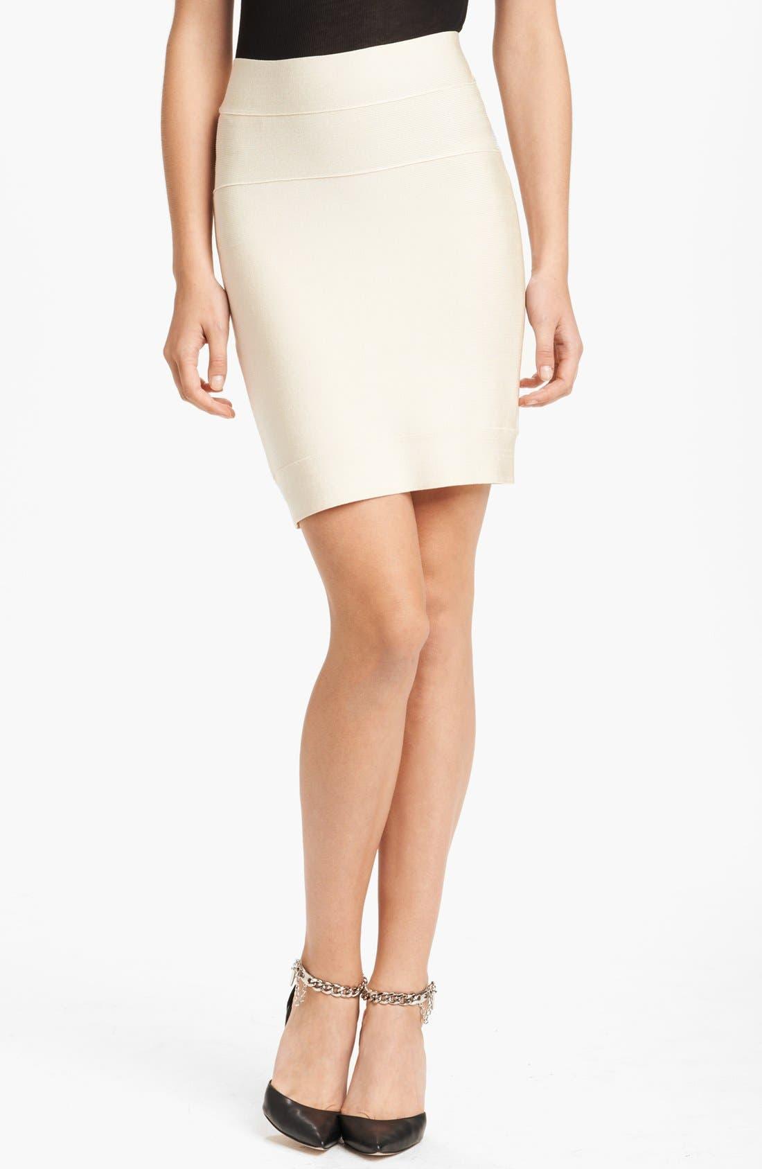 Main Image - Herve Leger Miniskirt