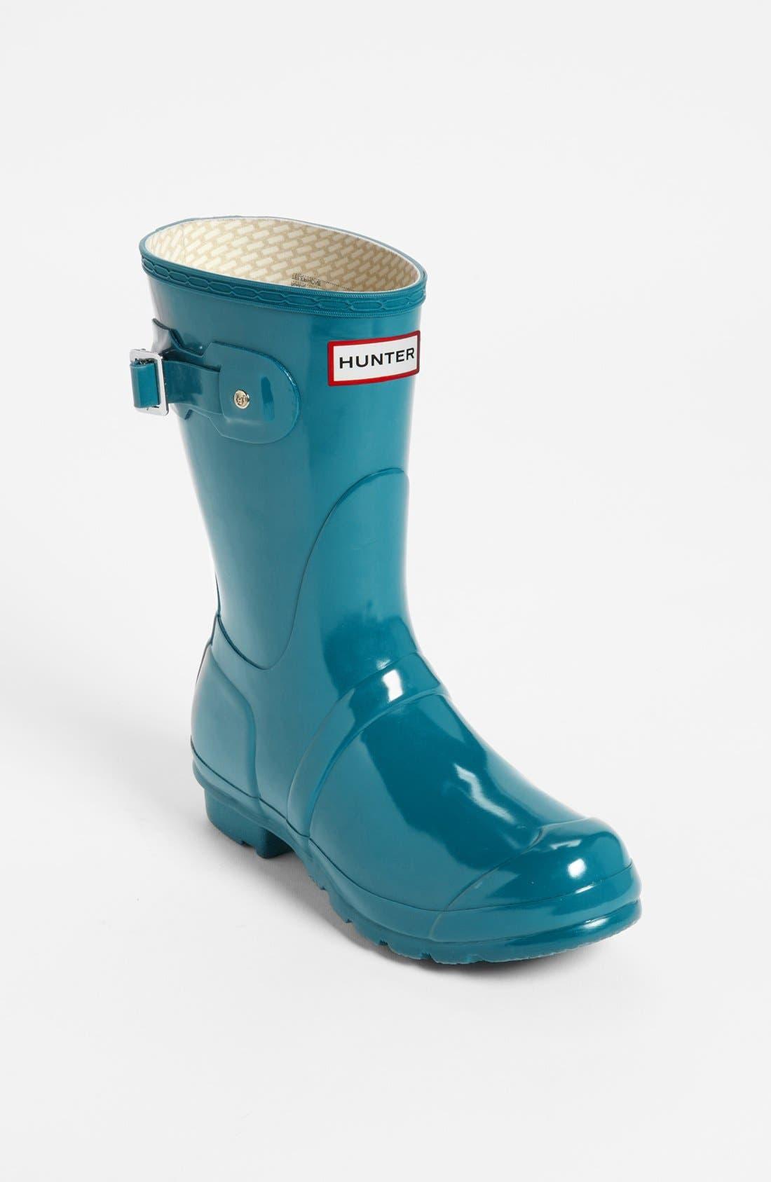 Main Image - Hunter 'Original Short' Gloss Rain Boot (Women)