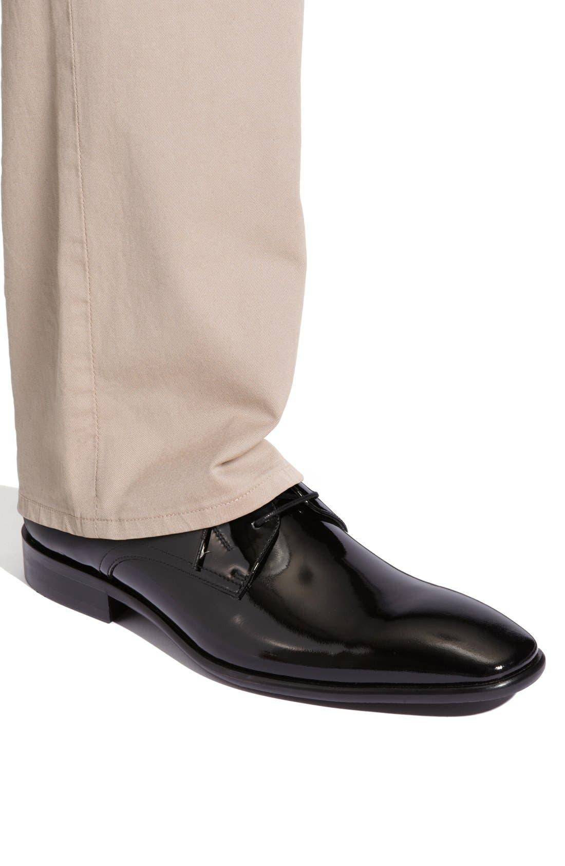 Alternate Image 6  - Calibrate 'Oscar' Patent Leather Dress Shoe (Men)