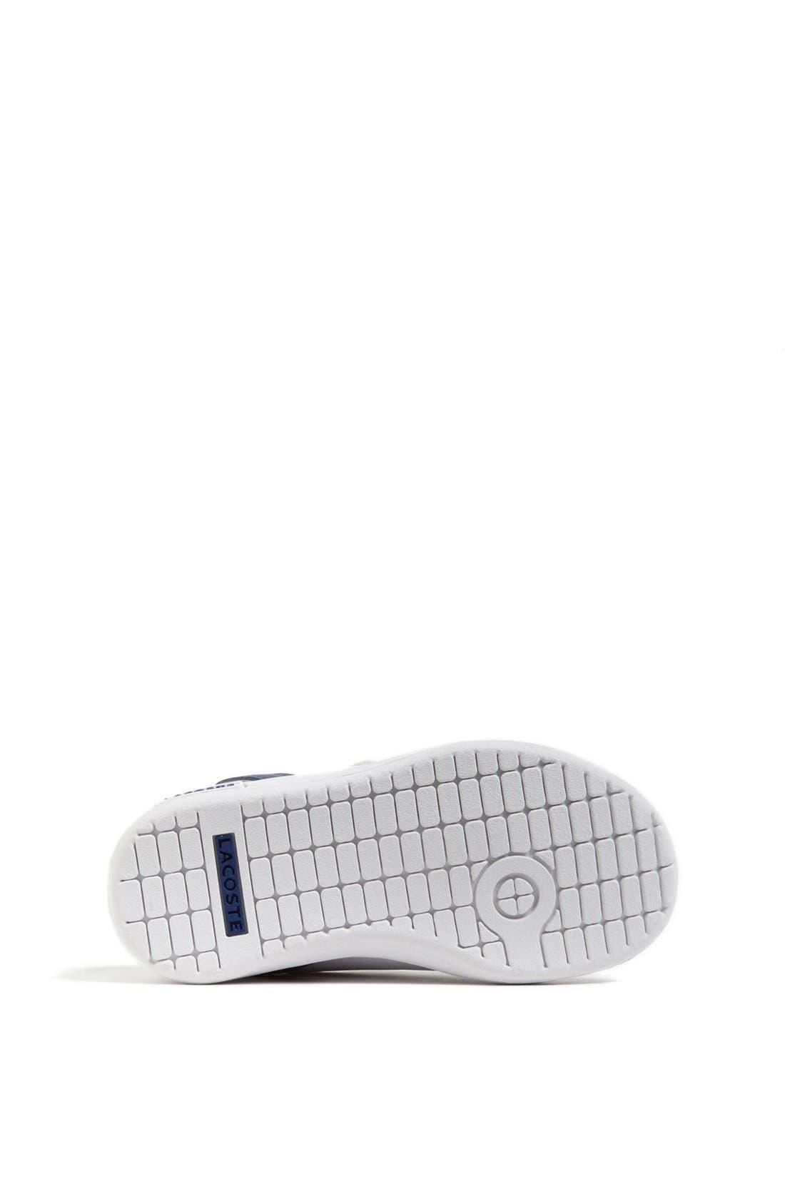 Alternate Image 4  - Lacoste 'Renard' Sneaker (Baby, Walker & Toddler)