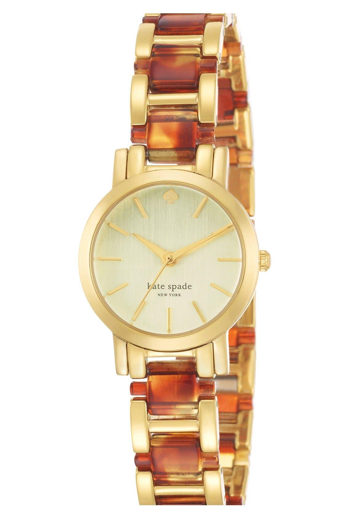 Alternate Image 2  - kate spade new york 'gramercy mini' bracelet watch, 24mm