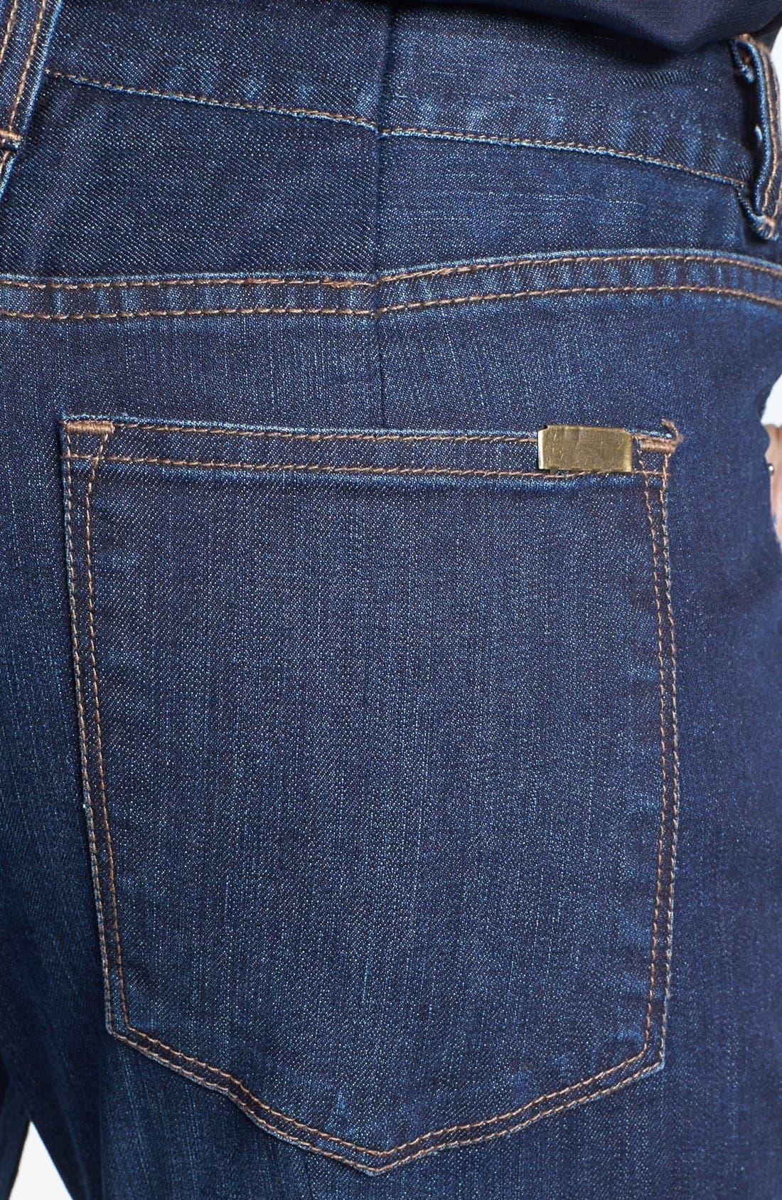 Alternate Image 3  - Adrianna Papell Stretch Denim Jeans