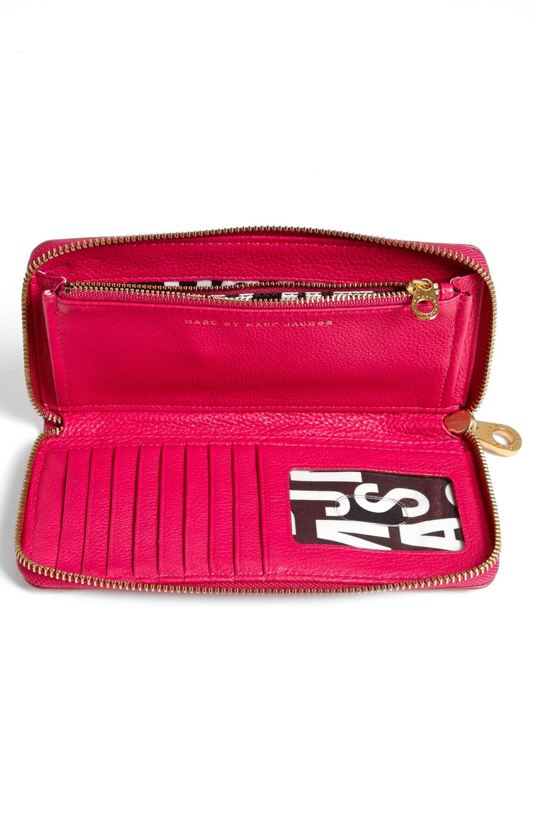 Alternate Image 3  - MARC BY MARC JACOBS 'Classic Q - Vertical Zippy' Wallet