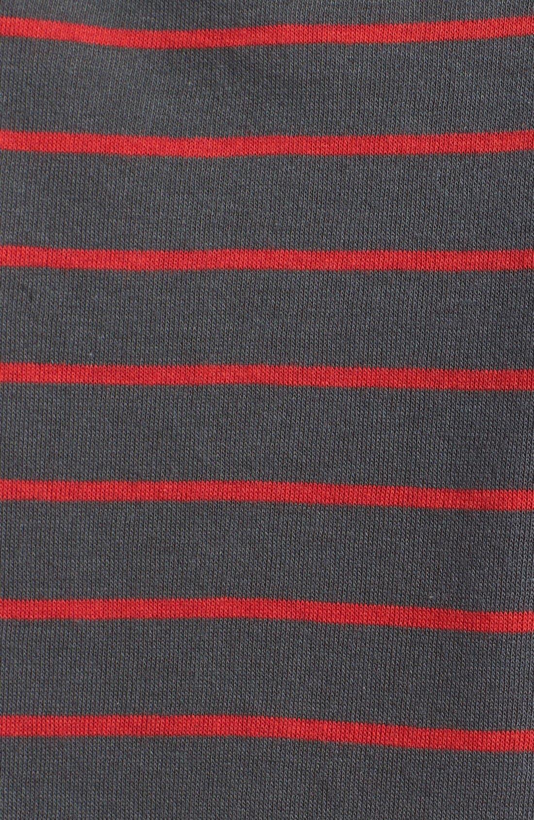 Alternate Image 3  - BP. Stripe Long Sleeve Tee (Juniors)