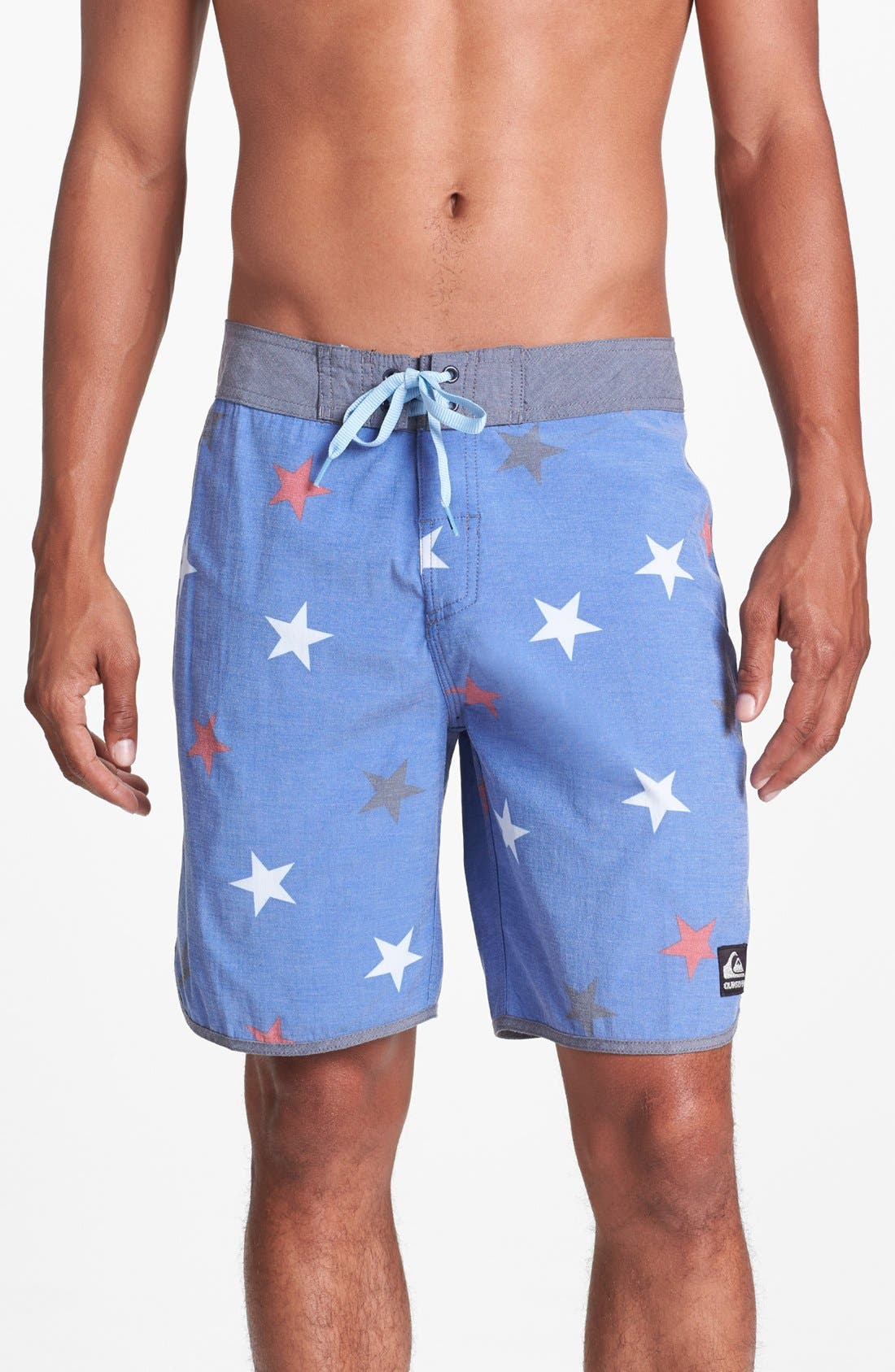 Main Image - Quiksilver 'OG Scallop' Print Board Shorts