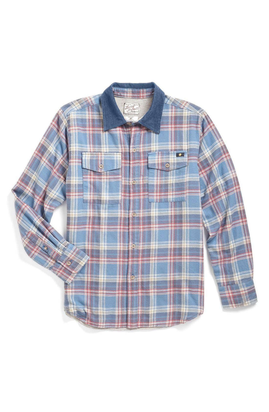 Alternate Image 1 Selected - Lucky Brand 'Rolling Thunder' Shirt Jacket (Big Boys)