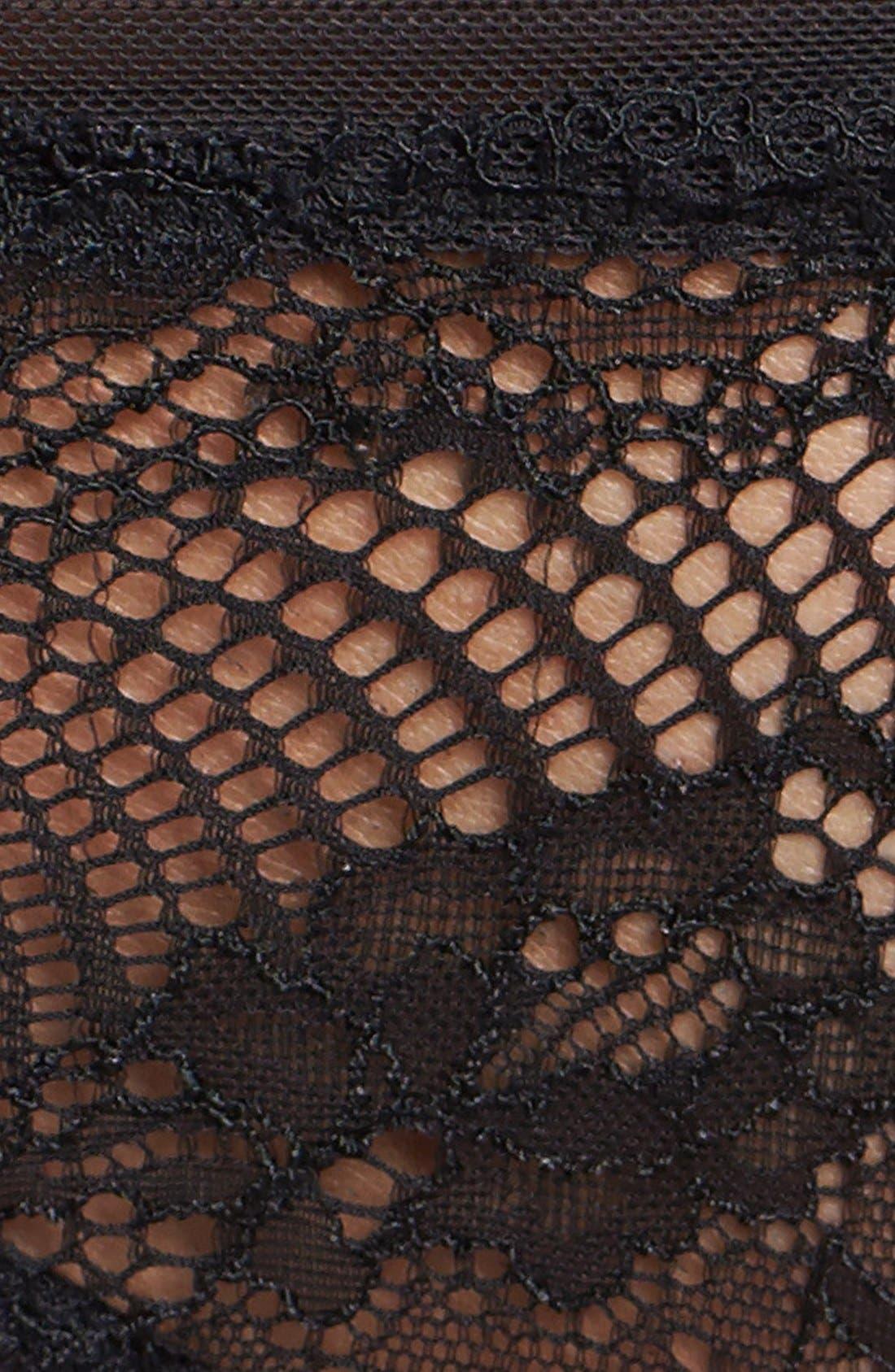 Alternate Image 4  - Calvin Klein 'Serene' Lace Thong