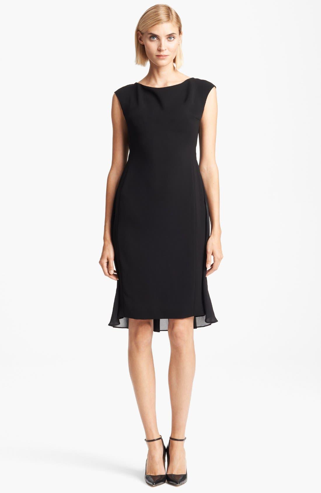 Alternate Image 1 Selected - Max Mara 'Cordoba' Chiffon Dress