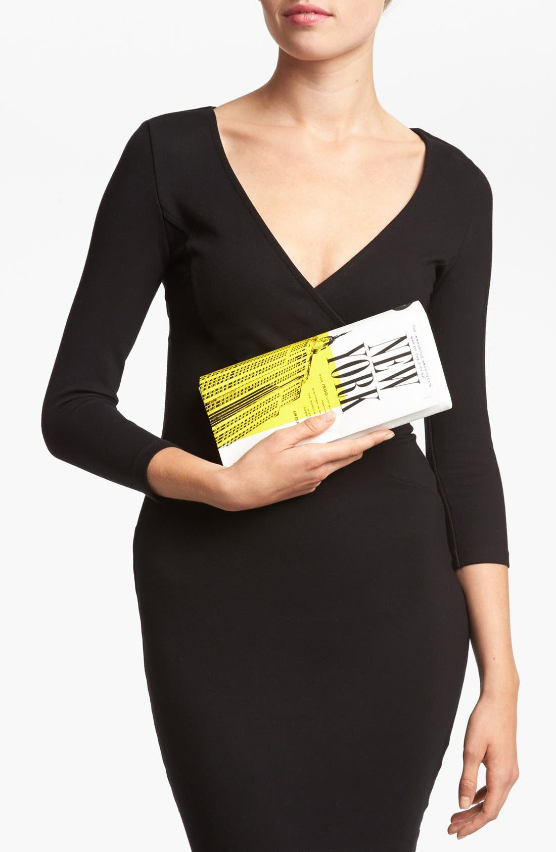 Alternate Image 2  - kate spade new york 'far from the tree - nyc map' clutch