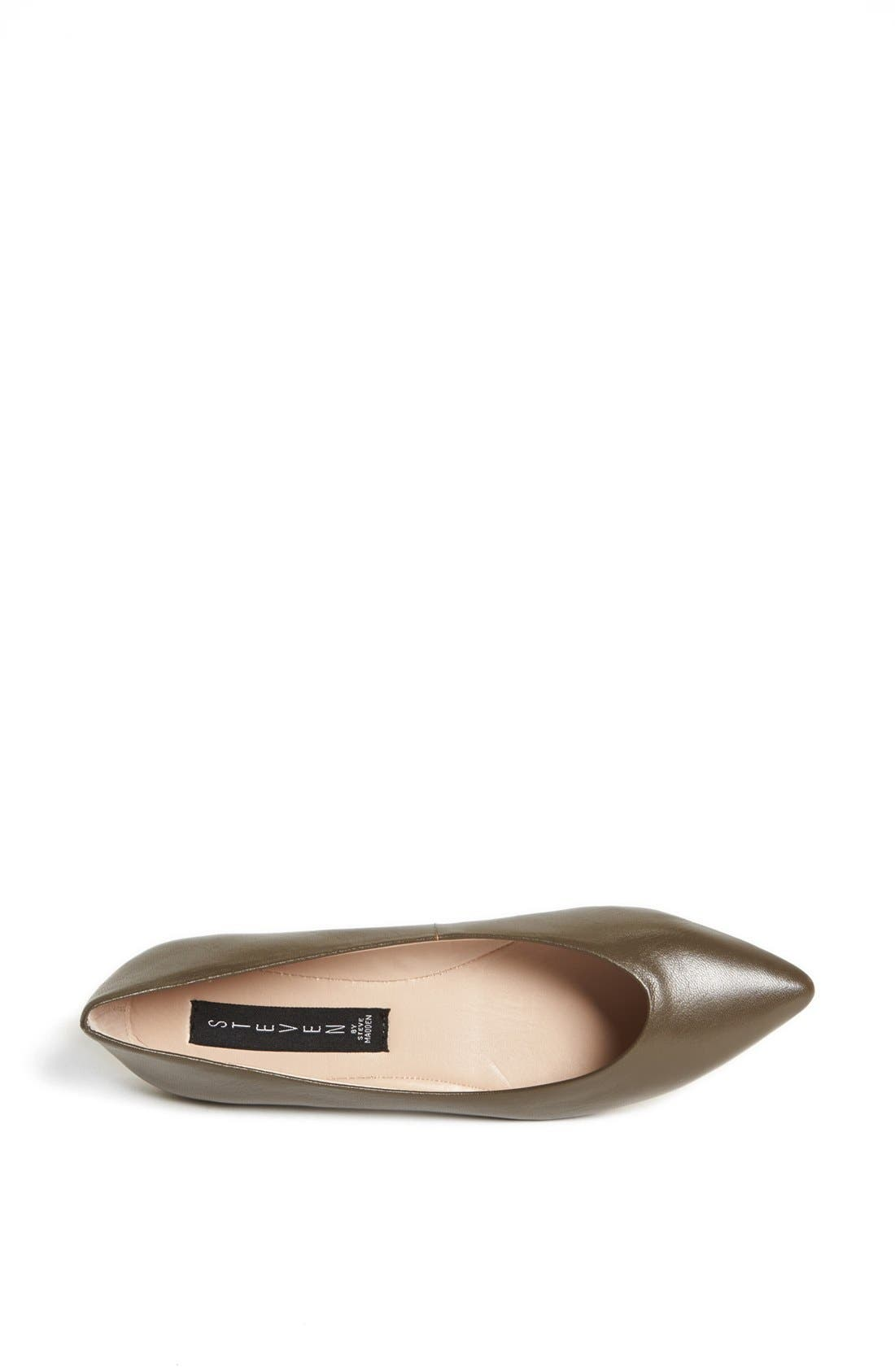Alternate Image 3  - Steven by Steve Madden 'Elatedd' Pointed Toe Flat