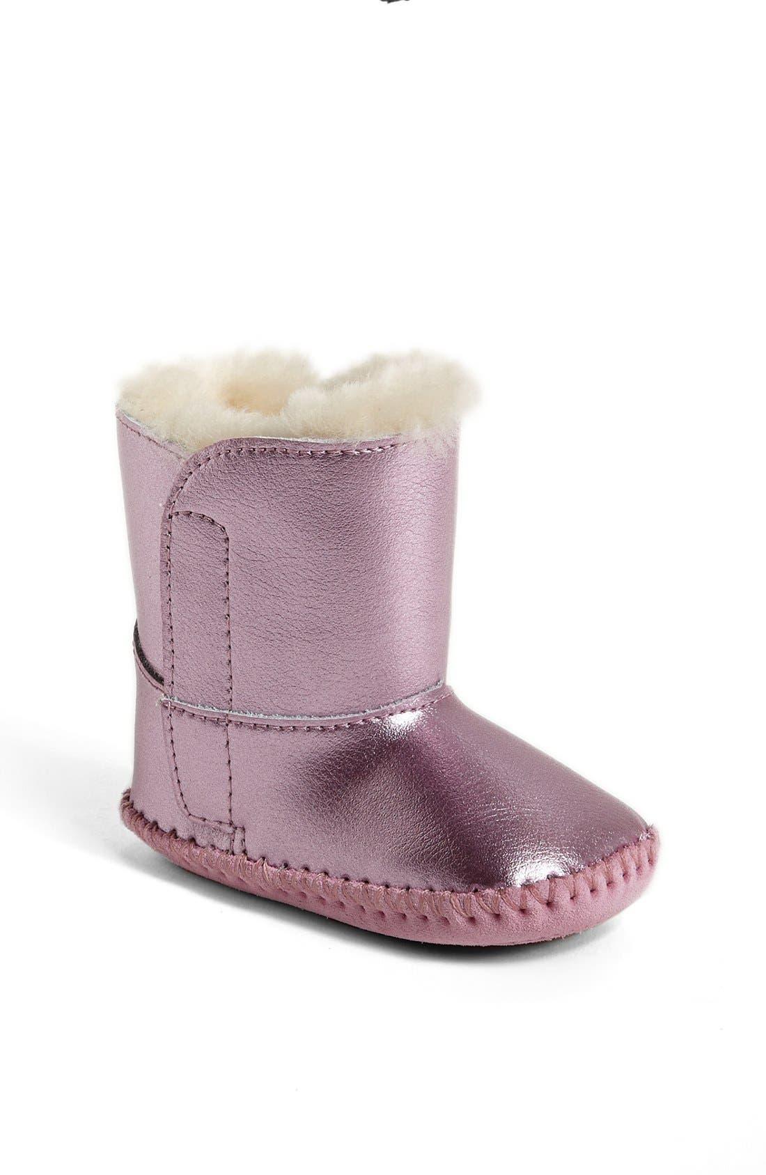 Alternate Image 1 Selected - UGG® Australia 'Cassie' Boot (Baby & Walker)