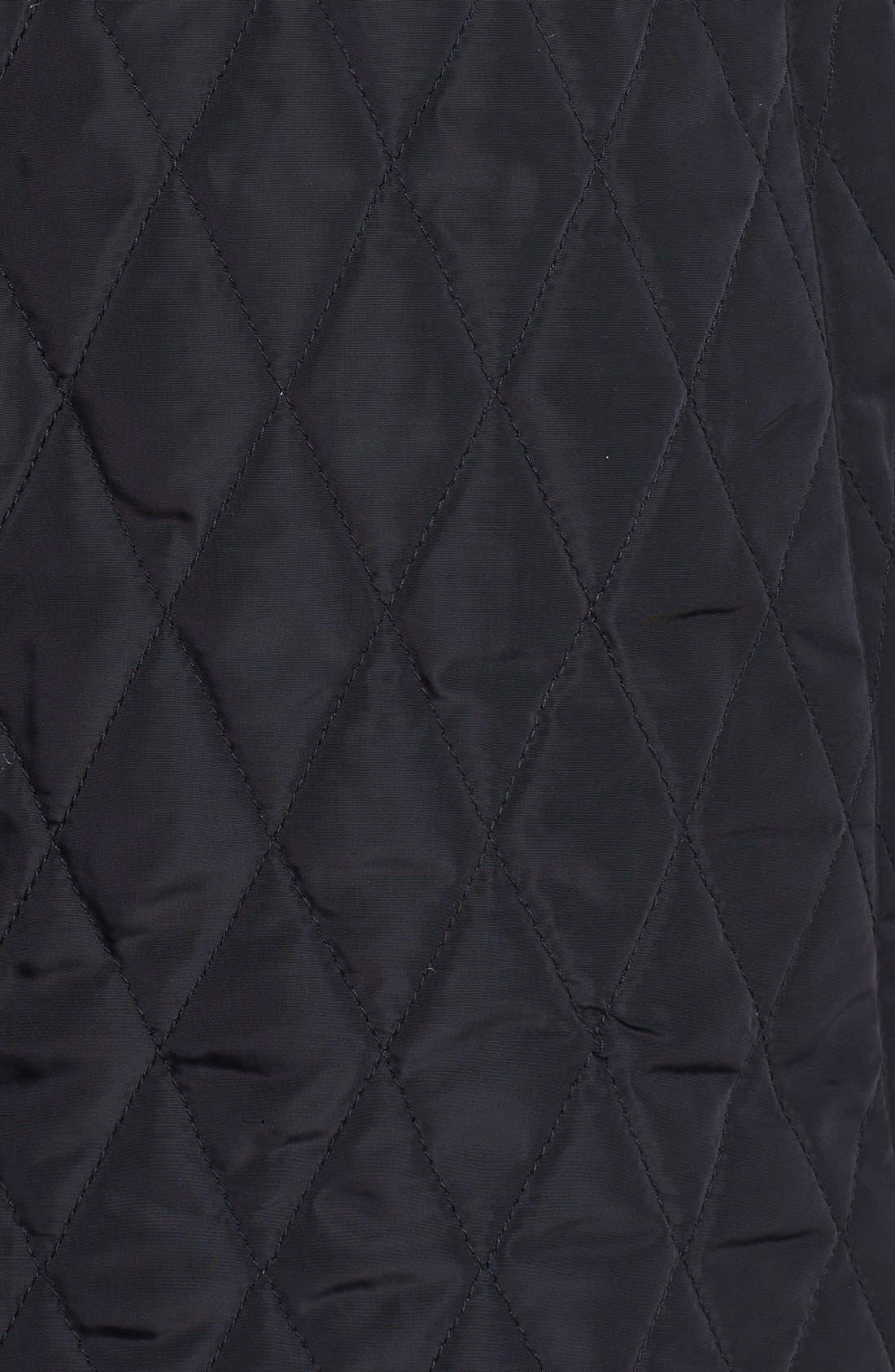 Alternate Image 3  - Kristen Blake Wool Blend & Quilted Coat (Nordstrom Exclusive)