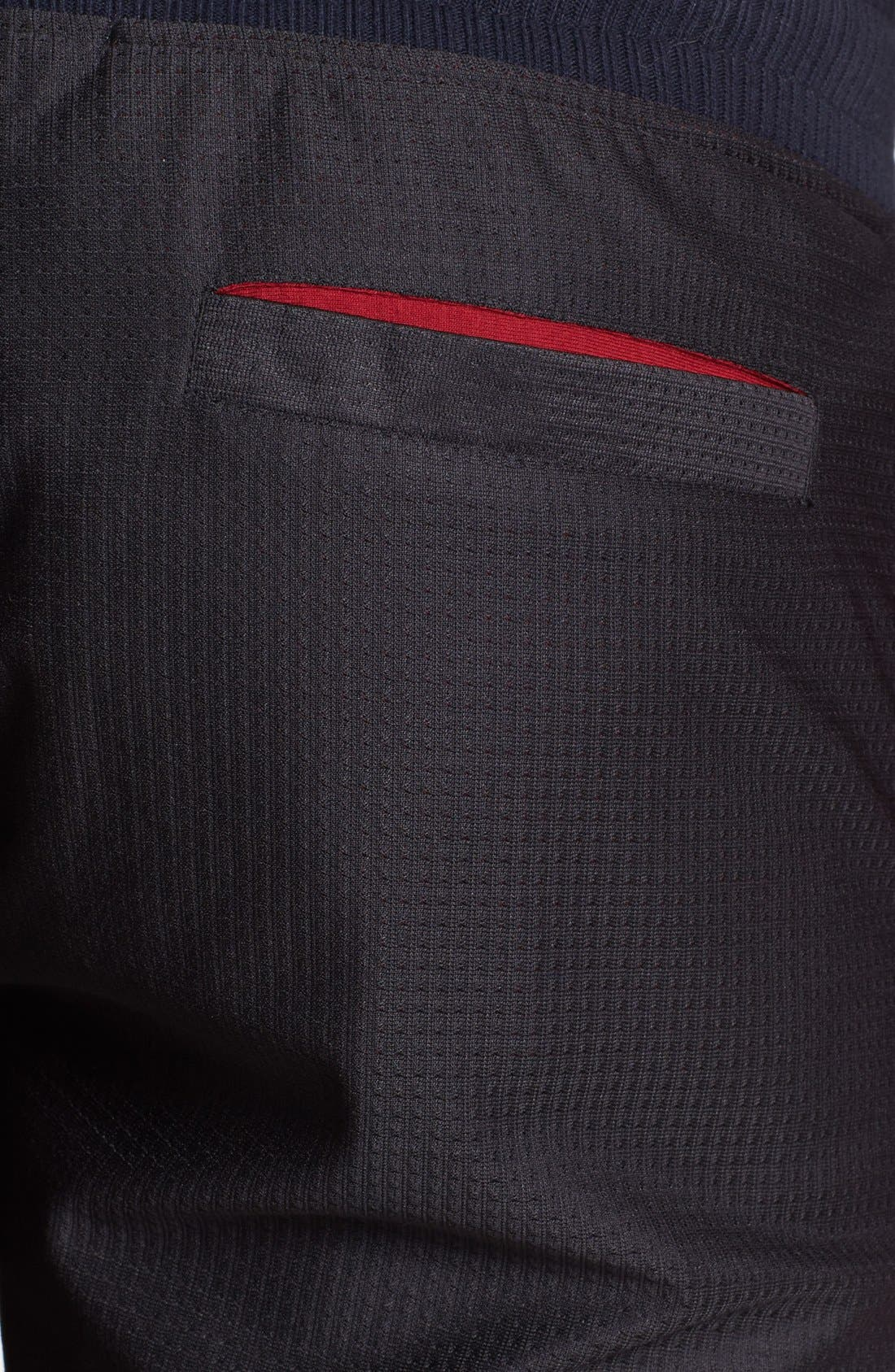 Alternate Image 3  - Number:LAB 'cool:TECH' Double Layer Drawstring Shorts