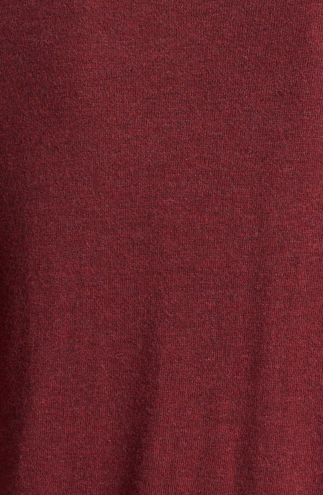 Alternate Image 3  - Trouvé V-Neck High/Low Sweater